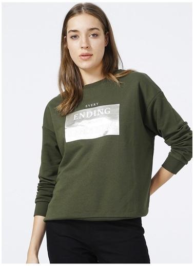 Fashion Friends Sweatshirt Haki
